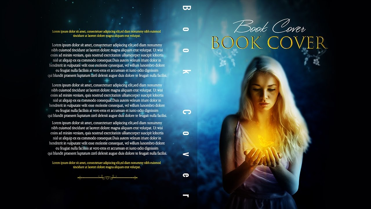 Book Cover Psd Tutorial : Photoshop tutorials book cover fantasy full tutorial