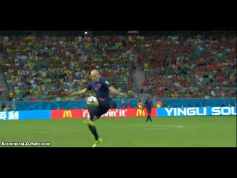 Spagna - Olanda 1-5 //13-06-2014 =Brasile2014= HIGHLIGHTS ITA