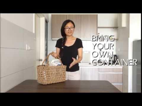 Zero Waste Shopping in Malaysia by Aurora Tin 如何零垃圾购物?零废弃!一个塑胶袋都不用!