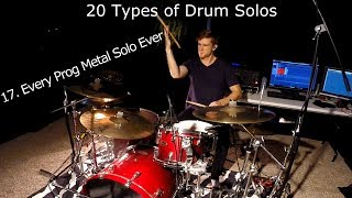 20 Types of Drum Solos
