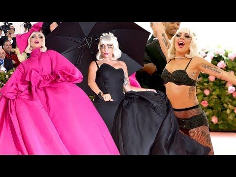 Met Gala 2019: Watch Lady Gaga&39;s Fashion Transformation
