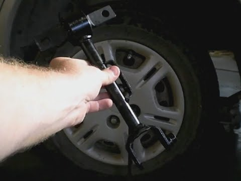 Replacing the Rear Upper Control Arm on a 2002 Honda Civic  YouTube