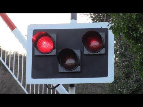 Railway Crossing - Ballymanus Lane, County Wicklow