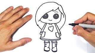 Dibujos de niña