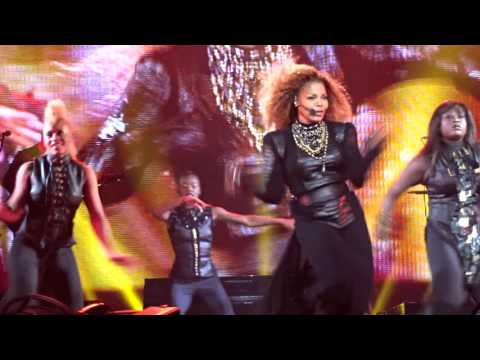 Janet Jackson NO SLEEEP - GTIG- TTWLG Live Unbreakable World Tour Orlando Florida 2015