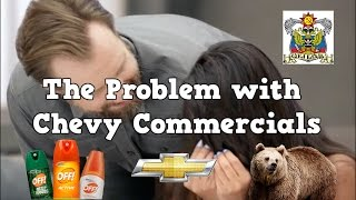 The problem with Chevy commercials