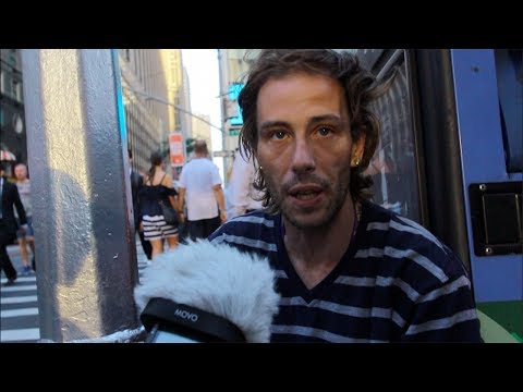 Depressed HOMELESS Man Tells His Story - Emotional & Heartbreaking - Will Make You Cry!!