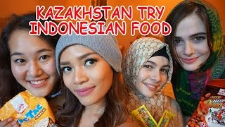 Kazakhstan Try Indonesian Food- sub Bahasa