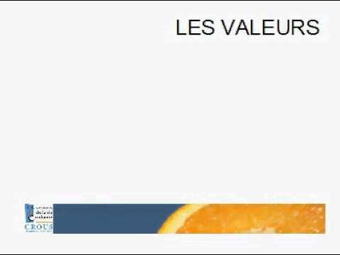 4 - Projet établissement CROUS Amiens Picardie 2011/2014 - Valeurs