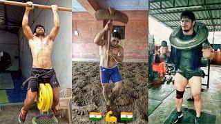 Indian Wrestlers Workout + Movements  ||  Kushti Ke Deewane - Motivation