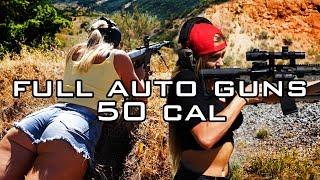 California Girls Shoot Full Auto And 50 Cal // Olivia Paladin