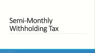 Paano Mag Compute ng Income Tax under the Train Law