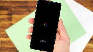 Android Q Beta 5 полный переход на темную тему