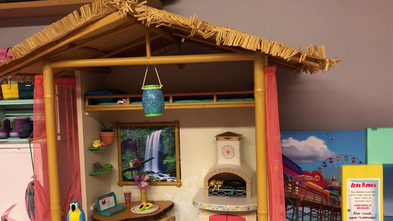 AG bedroom | American girl doll house, American girl