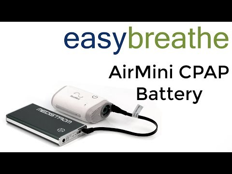 The ResMed AirMini CPAP Battery: Medistrom Pilot-24 Lite