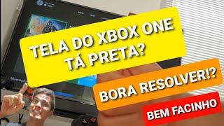 Xbox one liga mas não aparece imagem