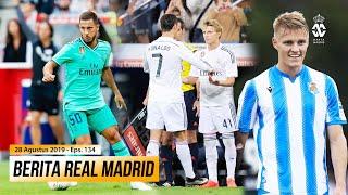 Hazard Ingin Segera Memainkan Debut Resminya Odegaard Miliki Disiplin Seperti Cristiano Ronaldo