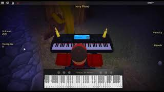 In The End - Live in Texas by: Linkin Park on a ROBLOX piano.