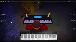 In The End - Live in Texas von: Linkin Park auf einem ROBLOX Klavier.