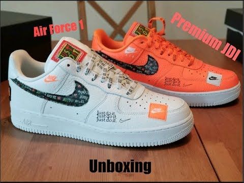 AIR FORCE 1 PREMIUM JDI COLLECTION