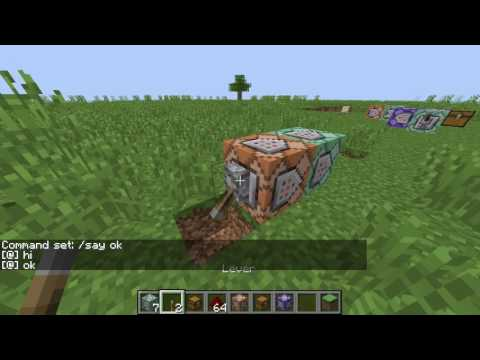 Repeating/Chain Command Block