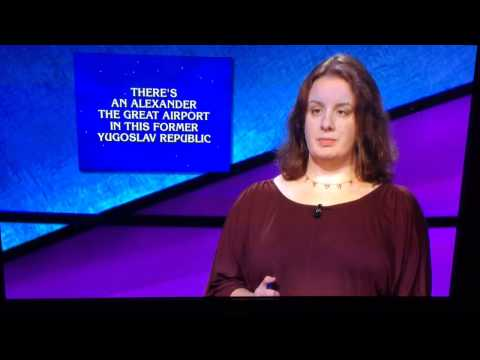 Macedonia question on Jeopardy