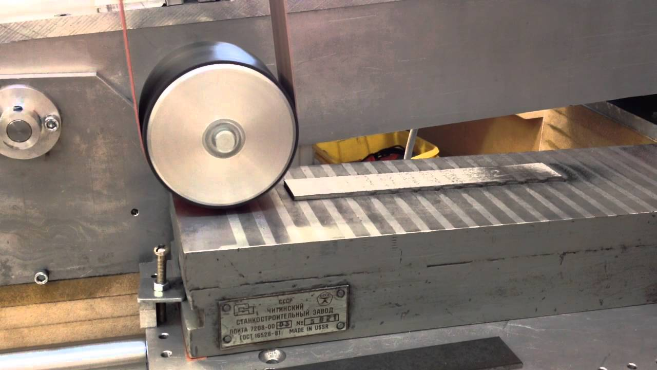 Surface grinder - finished - YouTube