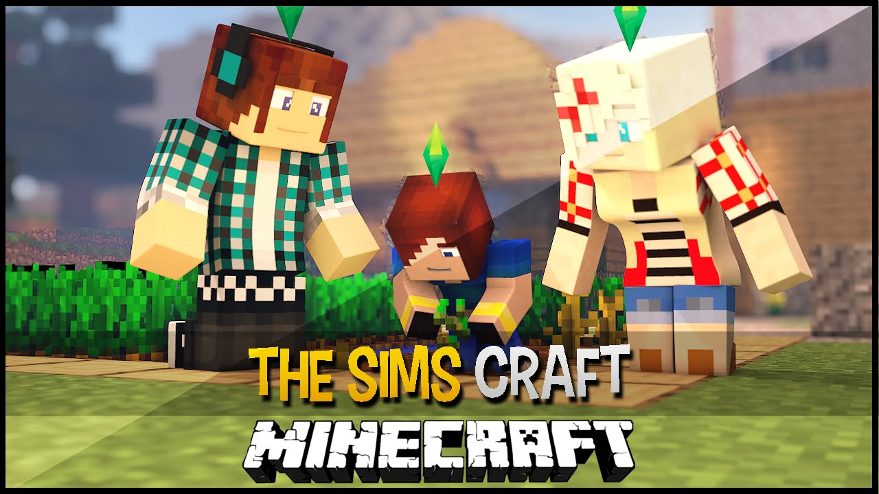 The Sims Craft Mod 1.8.7, 1.8.3, 1.8, 1.7.10, 1.6.4