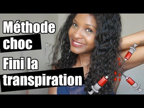Storytime la transpiration le calvaire 💉  Méthode CHOC pour stopper la transpiration