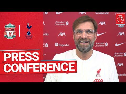 Jürgen Klopp's pre-match press conference   Tottenham Hotspur