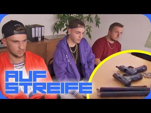 Rap Video auf der Wache: Wo ist Leon? | Auf Streife | SAT.1