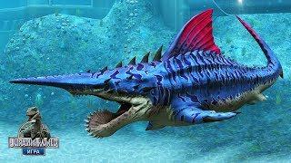 Битва за Геликоприона - Сильнейшие динозавры Jurassic World The Game