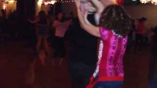 Ralph and Rosalia dancing salsa @ LVG Social