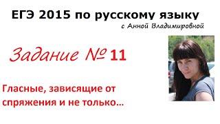 11 задание ЕГЭ 2016 русский язык