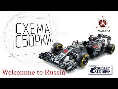 Модели формулы 1 от EBBRO теперь и в России