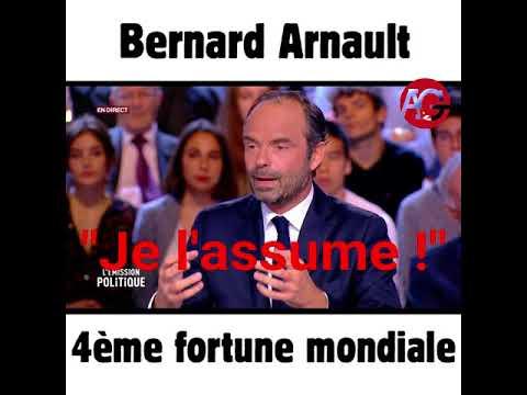 Bernard Arnault 4eme fortune mondiale
