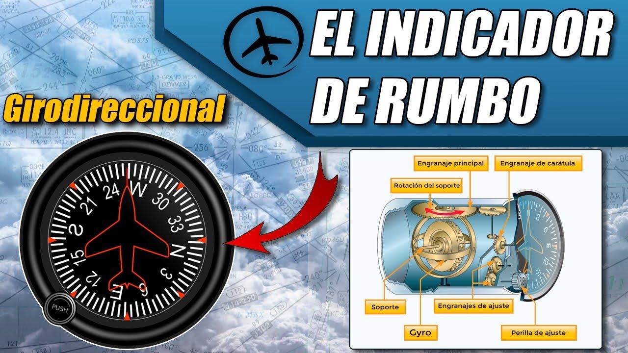 El Indicador de Rumbo (Girodireccional) - Instrumentos de Vuelo