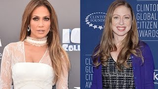 Jennifer Lopez Adorably Reveals Her Twins 'Have Played' With Chelsea Clinton's Kids