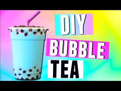 Diy Bubble Tea Drink Boba Tea Recipe 2015 Youtube