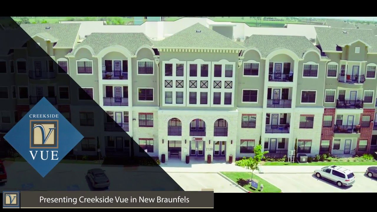 Creekside vue luxury apartments in new braunfels tx youtube for Creekside new braunfels