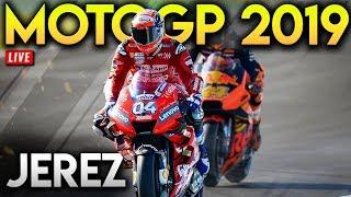 MotoGP В Хересі 2019 Повної Гонки (Гонки MotoGP 19 Мод Геймплей В Прямому Ефірі)
