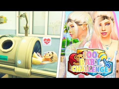 SHE HAD TWINS!!!!!!!!!!! & PREGNANT AGAIN!!!👶👶😱 // THE SIMS 4 | 100 BABY CHALLENGE #3 thumbnail