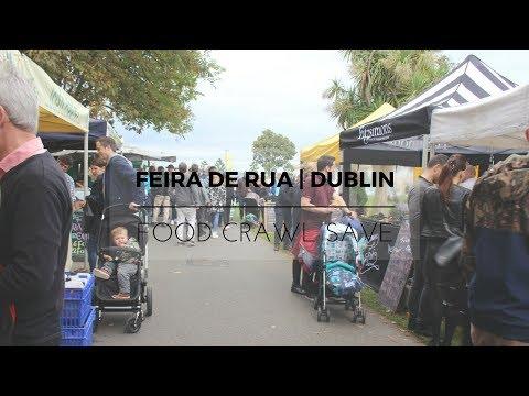 FEIRA de RUA em DUBLIN | DUN LAOGHAIRE - IRLANDA