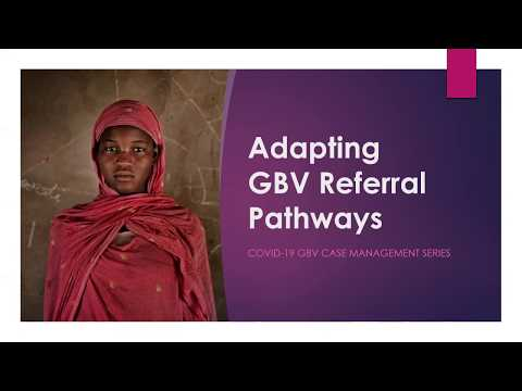 GBVIMS COVID-19 Series: Updating referral pathways