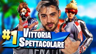 A REAL SACION VITTORY with Cicciogamer89, Marza and Cerys! FORTNITE ITA