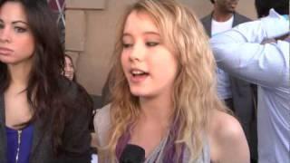 Taylor Spreitler Interview:  What is she doing for Spring Break?