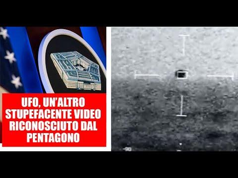 UFO, UN'ALTRO STUPEFACENTE VIDEO RICONOSCIUTO DAL PENTAGONO