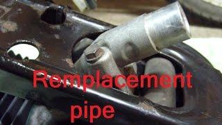 Remplacement pipe d'admission moteur 2 temps