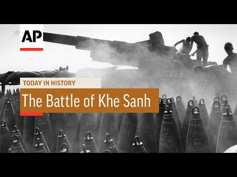 The Battle of Khe Sanh - 1968 | Today in History | 21 Jan 17