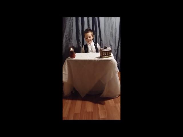 Изображение предпросмотра прочтения – ДенисОвчинников читает произведение «Юному поэту (Юноша бледный со взором горящим…)» В.Я.Брюсова